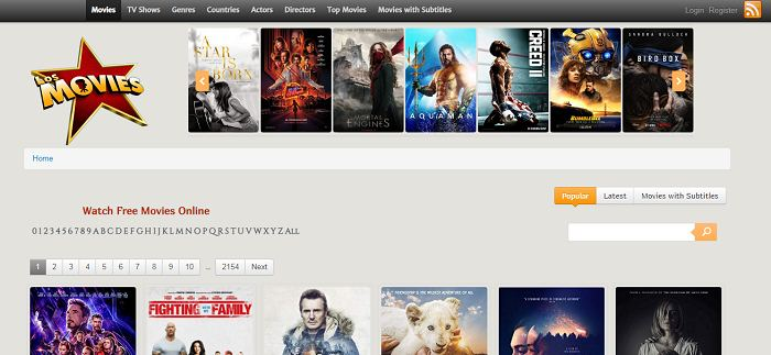 Sites Like 123Movies To Watch Movie Online Working