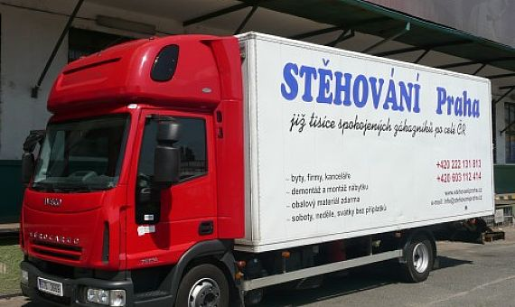 Want a Thriving Business And Give attention to Moving Truck Prague!