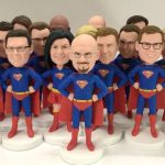 Making process of custom bobbleheads